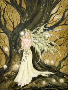 Fairy and Fantasy art by Janna Prosvirina - Candle Ritual by Kuoma on deviantART Fairy Pictures, Fairy Art, Magical Creatures, Faeries, Fantasy Art, Fairy Tales, Artist, Painting, Angels