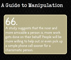 Suggested by cumberbitchin-as-hell. Guide To Manipulation, The Art Of Manipulation, Writing Tips, Writing Prompts, Dialogue Prompts, A Guide To Deduction, Detective, The Science Of Deduction, Psychological Manipulation
