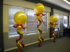 link-o-loon pedestal numbers - Google Search Balloon Face, Love Balloon, Big Balloons, Balloon Centerpieces Wedding, Balloon Decorations, Table Decorations, Balloon Ideas, Balloon Designs, Balloons Galore