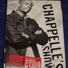 Chappelle's Show, DVD / Blu-Ray Disc Set. Comedy Movies @ http://immortalmastermindx.storenvy.com/products/12404514-chappelles-show-dvd-blu-ray-disc-set