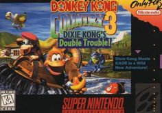 Donkey Kong Country 3: Dixie Kong's Double Trouble. Super Nintendo. ♥