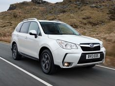 """The new Subaru Forester scored top marks in a severe new frontal crash test conducted by the Insurance Institute for Highway Safety (IIHS) in the USA and the only small SUV to achieve the highest (""""good"""") rating."""