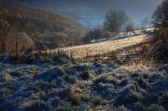 Winter morning in North Wales