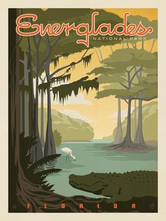 Anderson Design Group – American National Parks – Everglades National Park