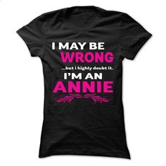 I ... like doubt it i am ANNMARIE cool shirt !!! - shirt dress #teeshirt #style