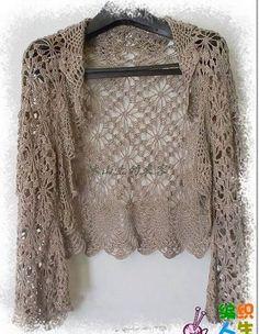 Art & Manhas Knitting and Crochet: Bolero
