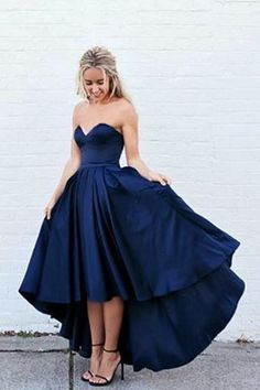 prom dresses,long prom dresses,sweetheart royal blue dresses,hi-low party dresses,fashion prom party dresses,vestidos