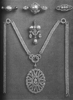 The Jewels of Princess Vera Nikolaievna Lobanov Rostovsky (or Lobanoff de Rostoff 1836-1914), née Dolgoruky