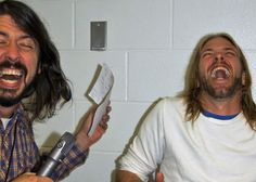 Dave Grohl and Taylor Hawkins by charlieontheradio, via Flickr