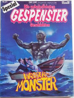 Gespenster Geschichten Spezial #21 - Wasser-Monster