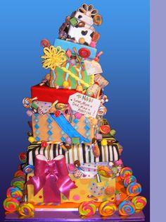 Birthday gift cake.