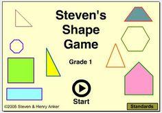 Mr. Anker Tests Kindergarten Activities Shape Games, Game 1, Kindergarten Activities, Infants, Deserts, Math, School, Kids, Young Children