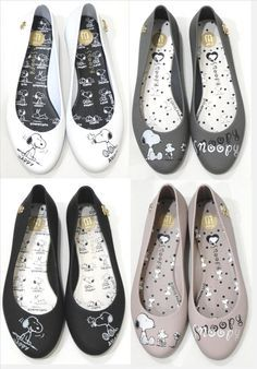 Snoopy shoes.