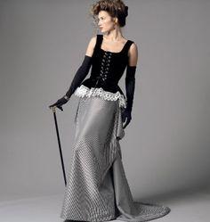 Butterick - B5969 patroon historisch kostuum   Schnittmuster-online.com   nähen und schnitte online