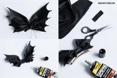 Halloween Hair Bows, Halloween Kostüm, Halloween Costumes, Halloween Accessories, Diy Hair Accessories, Diy Bow, How To Make Bows, Diy Hairstyles, Leather Craft