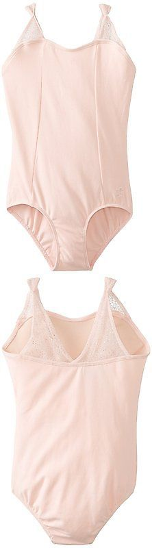 Leotards and Unitards 152354: Danskin Big Girls Leotard With Iridescent Pinched Straps, Petal Pink, Intermedia -> BUY IT NOW ONLY: $31.84 on eBay!