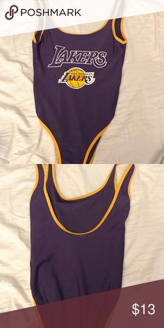 Forever 21 Los Angeles LA Lakers bodysuit Lakers bodysuit only worn once.  Tag has been 0818add9060e