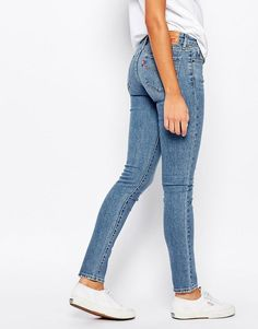 Image 2 of Levis 711 Skinny Jeans. minimalist classic denim