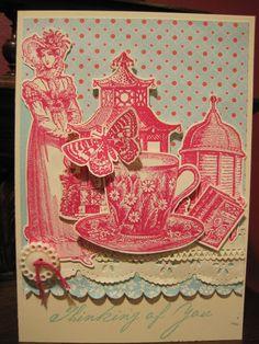 Oxford Impressions stamps- Jane's Garden