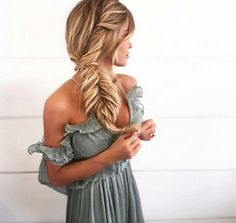 Fish tail braid crush | Use my code malloryhotoil and get 15% off at sttropica.com