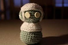 Amigurumi Crochet Books : Amigurumi corporate zombie from creepy cute crochet book my