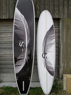 Light as a feather / swami's phantom feather surfboards.