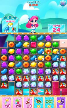 Very addictive match-3 puzzle game. It's very similar to Candy Crush, but has cuter graphics IMO. It's highly recommended for those who are looking for a refreshing puzzle game. Download here http://mob-app.net/6oIJVZ3pxso6