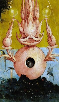 Hieronymus Bosch, The garden of earthly delights (detail)