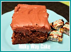 Sweet Tea and Cornbread: Search results for Milky Way cake