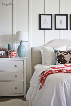 I am in love with my master bedroom makeover using BHG Live Better products from Walmart.