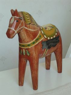 Dala horse by Feltangel, via Flickr