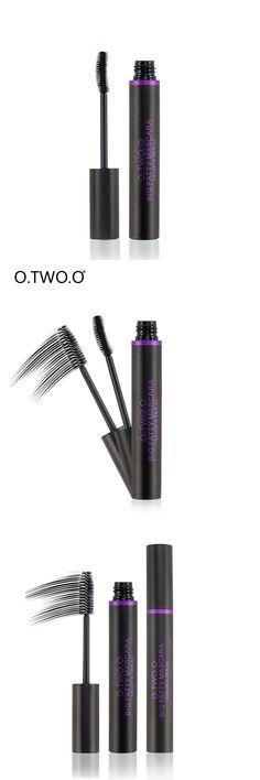 O.TWO.O Mascara Black Waterproof Curling And Thick Eyelashes Makeup  Lashes Volume Longwearing Lengthening Mascara Cosmetics