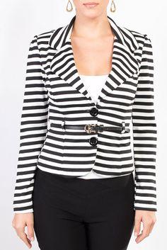 Azul klein una blusa perfecta para combinar con pantal n - Rayas horizontales ...