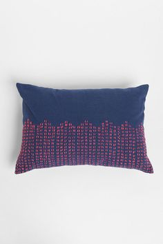Magical Thinking Stitch Pillow  #UrbanOutfitters - easy to DIY with embroidery
