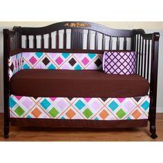 Boutique Diamond 13-piece Crib Bedding Set | Overstock.com