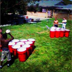 now THAT'S Beer Pong!