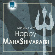 Cres Advisor wishes you all a Happy MahaShivaratri 🙏😊🌺 #Festivalgreetings #MahaShivaratri
