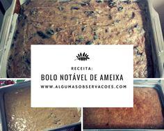 Receitinha rápida e prática lá no blog. Bolo Notável de Ameixa, para fazer dos seus dias mais doces! ;) http://www.algumasobservacoes.com/2015/02/receita-bolo-notavel-de-ameixa.html