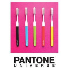 pantone teeth brush