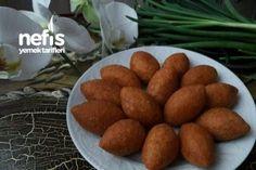 Tam Ölçülü İçli Köfte Tarifi Meat Recipes, Cooking Recipes, Merida, Turkish Recipes, Food Presentation, Food Design, Iftar, Food Art, Sweet Potato