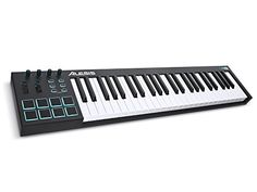 Alesis V49  49Key USB MIDI Keyboard  Drum Pad Controller 8 Pads  4 Knobs  4 Buttons *** Find out more about the great product at the image link.