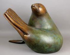 Georgia Gerber, Seal Twist Sculpture