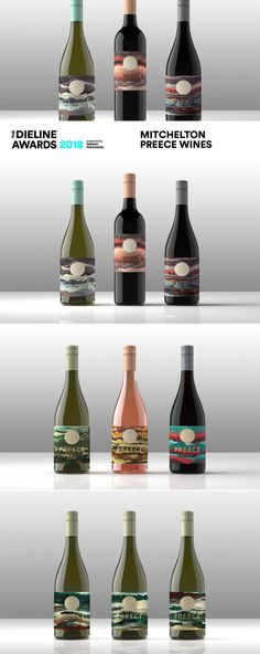 The Dieline Awards 2018 Outstanding Achievements: Mitchelton Preece Wines — The Dieline | Packaging & Branding Design & Innovation News