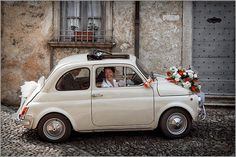 Classic Fiat 500, to go along with my Vespa.