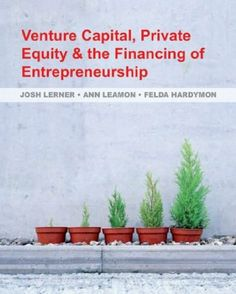 Contents: 1. Introduction. 2. The private equity cycle - fund-raising and fund choosing. 3. Deal sourcing and evaluation - not as easy as it looks. 4. Assigning value. 5. Deal structuring - private equity securities and their motivation. 6. After the money arrives. 7. Achieving liquidity - exits and distributions. 8. The globalization of venture capital and private equity. 9. Risk and return. 10. The impact of private equity on society - does this really matter anyway? (...) Cote : 4-832 LER