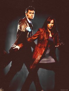 Another awesome Doctor and Donna picture.