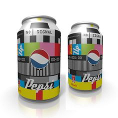 RE-BRANDIG PEPSI by KlarWelt studio , via Behance