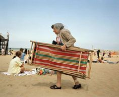 Martin Parr, From Life's a Beach, Kent, Margate, England, 1996.