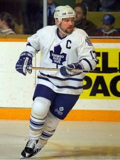 Wendel Clark grew up watching this man. Ice Hockey Teams, Hockey Games, Nfl Highlights, Maple Leafs Hockey, Nhl Jerseys, Sport Icon, Sports Figures, National Hockey League, Toronto Maple Leafs