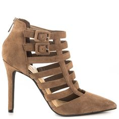 Carmody - Slater Taupe Suede by Jessica Simpson
